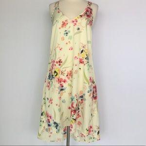 H&M Floral Print High Low Dress